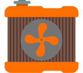 Klimatizácie - ikona