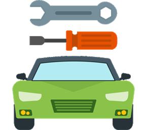 Mechanické práce - ikona